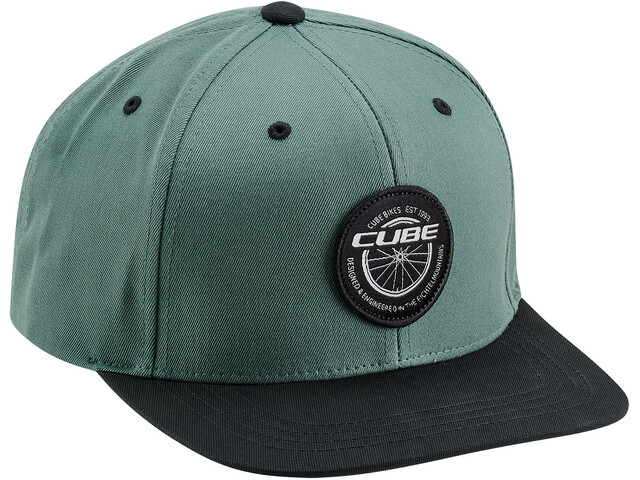 Cube Edge Freeride Cap green'n'black
